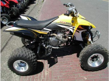 used 2005 yamaha yfz450 four wheeler for sale albertville motorcycles for sale used. Black Bedroom Furniture Sets. Home Design Ideas